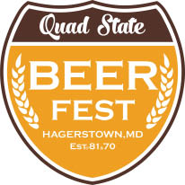 quad state beer fest logo, breweries, interstate festival group, live music, games, fun, samples,