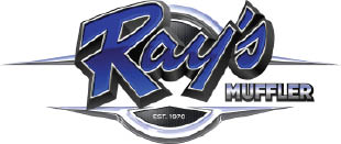 Ray's Muffler Service. Complete auto care in  Bountiful, Utah logo
