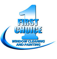 FIRST CHOICE WINDOW CLEANING & PAINTING logo