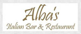 Alba's logo fort worth texas