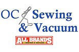 OC Sewing All Brands Logo in Garden Grove, CA.