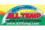 All Temp Heating & Air Conditioning logo Chicagoland, IL