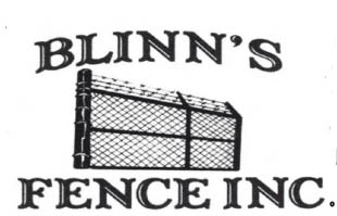 BLINN'S FENCE logo