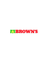 BROWN'S CHICKEN LARKIN logo