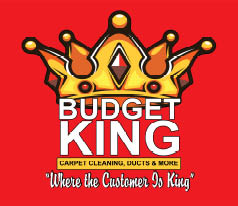 Budget King Carpet Cleaning logo Naperville, IL