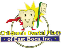 EAST BOCA RATON PEDIATRIC DENTAL logo