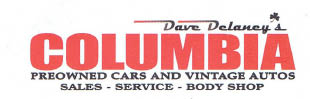 Columbia Pre-Owned Cars And Vintage Autos