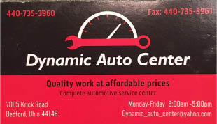 DYNAMIC AUTO CENTER logo