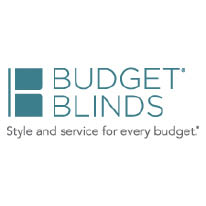 Budget Blinds logo in Everett/Mill Creek, WA