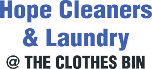HOPE CLEANERS & LAUNDRY, LLC / DBA THE CLOTHES BIN logo
