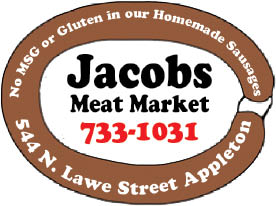 Jacobs Meat Market in Appleton, WI logo