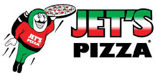 Jet's Pizza logo Jet's Pizza Coupon near me Dunedin FL