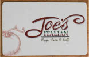 Joe's Italian Pizza Pasta & Cafe' logo