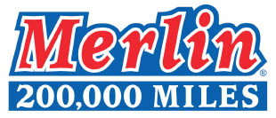 Merlin 200,000 Miles Shop logo for Yorkville & Montgomery IL