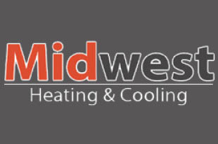 MIDWEST HEATING & COOLING logo