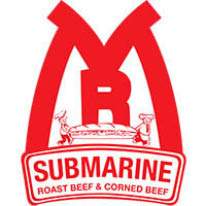 Logo for Mr Submarine located thoughout Chicagoland.