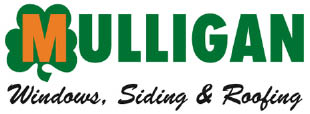 logo for Mulligan Windows, Siding and Roofing in Farmington Hills, MI