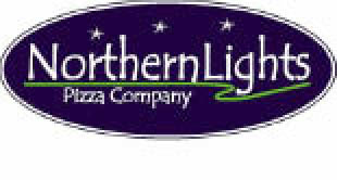 Northern Lights Pizza logo in Des Moines, IA