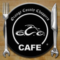 Orange County Choppers Cafe in Newburgh, NY logo