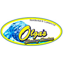 OLGA'S CLEANING SERVICES logo