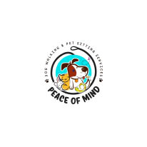 Peace of Mind Dog Walking and Pet Sitting Services in St. Louis County, MO logo