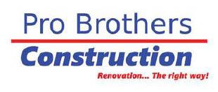 Pro Brothers Construction logo in Hartland, MI