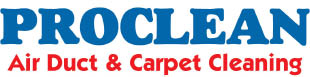 Proclean Air Duct Cleaning, carpet cleaning, carpet stain removal, water damage restoration