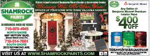 Shamrock Paints Staten Island