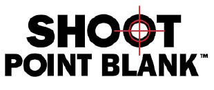 shoot point blank gun range shooting range north richland hills texas logo