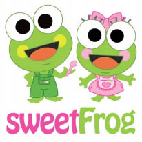 sweetFrog Frozen Yogurt logo