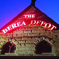 The Berea Depot logo