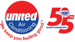 United Air Conditioning logo AC repair near me Largo, FL