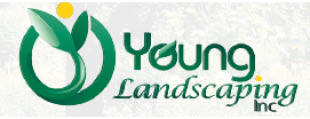 YOUNG LANDSCAPING logo