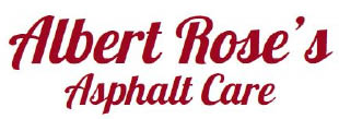 Albert Rose's Asphalt Care logo