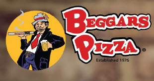 Beggars Pizza located in  Oak Lawn, IL