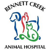 Bennett Creek Animal Hospital logo in Clarksburg, Maryland, dog boarding, veterinary, vet tech exam