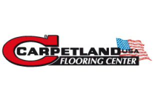 Carpetland USA Flooring logo, West Allis, Racine, Glendale, Pewaukee, Kenosha, Germantown WI
