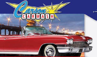 Carson Car Wash in California logo