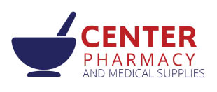 CENTER PHARMACY logo