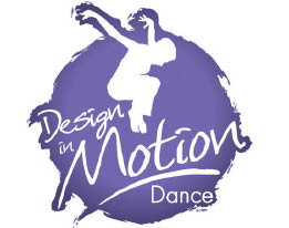 DESIGN IN MOTION DANCE logo