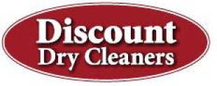 DISCOUNT DRY CLEANERS logo