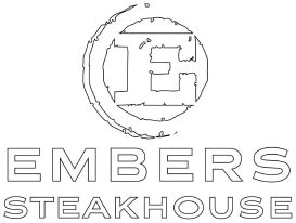 EMBERS STEAKHOUSE logo
