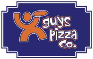 GUYS PIZZA logo