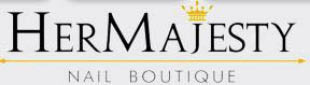 Her Majesty Nail Boutique in Houston, TX logo