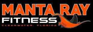 manta ray fitness logo fitness center clearwater fl get in shape gym near me
