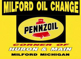 Milford Oil Change logo