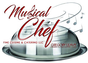 MUSICAL CHEF CUISINE & CATERING logo