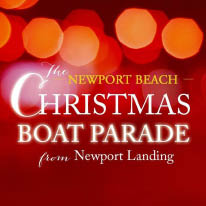 Newport Landing Christmas Boat Parade and Holiday Cruise logo Newport Beach, CA