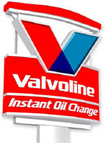 Valvoline Instant Oil Change logo in Brockton, MA