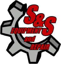 S&S, S & S, S and S, SS, Equipment and Repair Logo, Everson Washington